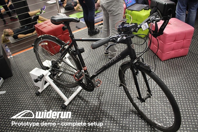 Widerun vélo vue d'ensemble