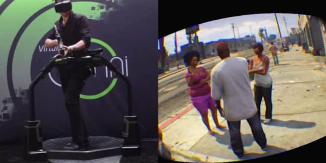 GTA V jouable à l'Oculus Rift