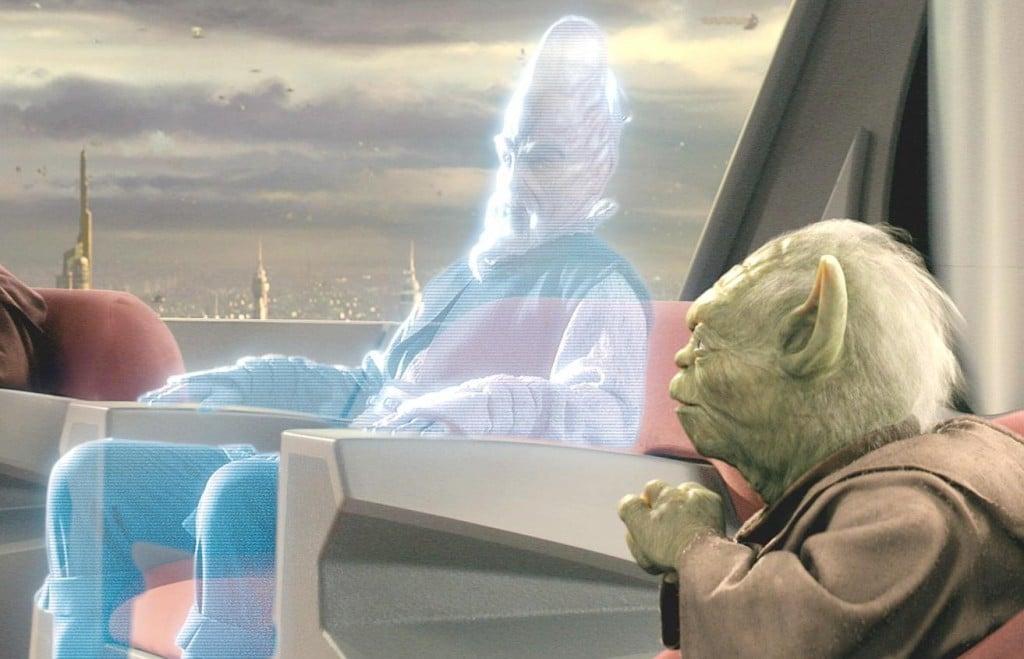 hologramme réel