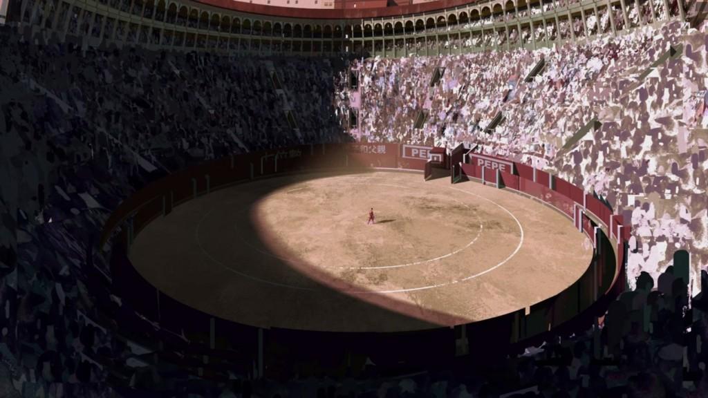 Le concept art ayant servi à l'affiche de Bullfighter par l'Oculus Story Studio