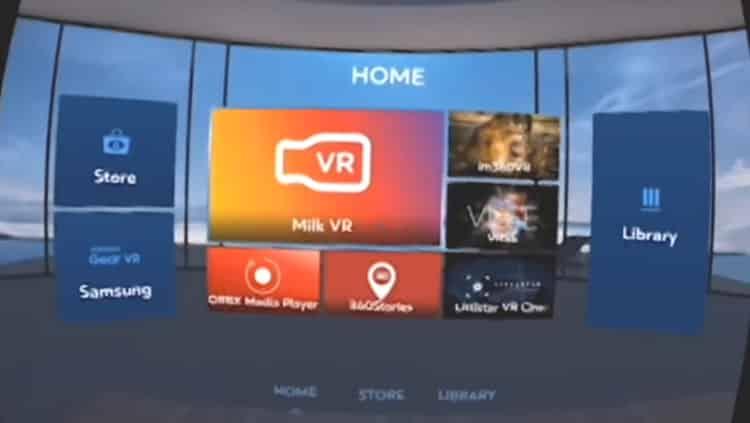 Gear-VR-UI