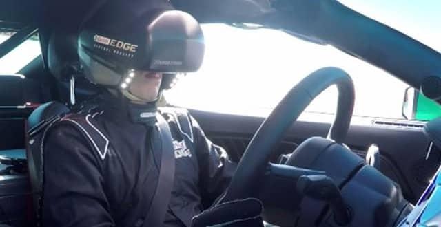 Conduire Mustang en VR