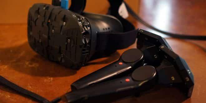 Un prototype du HTC Vive de Valve