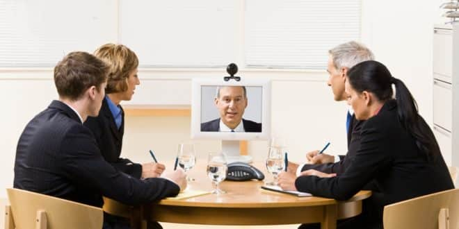 réunions virtuelles RV