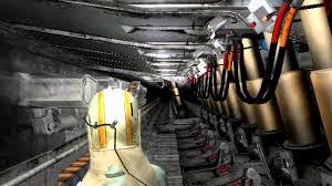 VR simulation mines