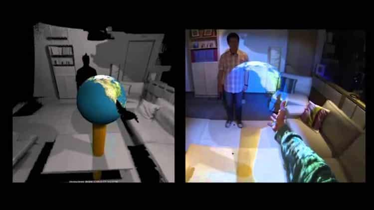 exemple de réalité augmentée