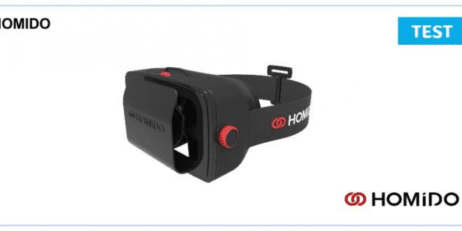 Test du casque de realite virtuelle Homido
