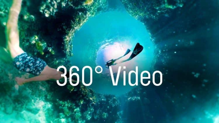Vidéos 360 réalité virtuelle