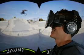 jaunt et réalié virtuelle