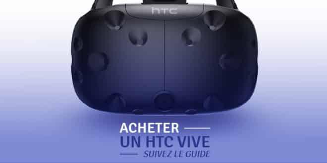 Acheter HTC Vive