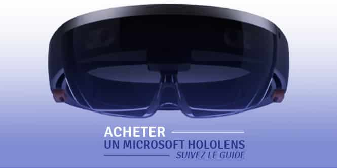 Acheter Hololens Microsoft