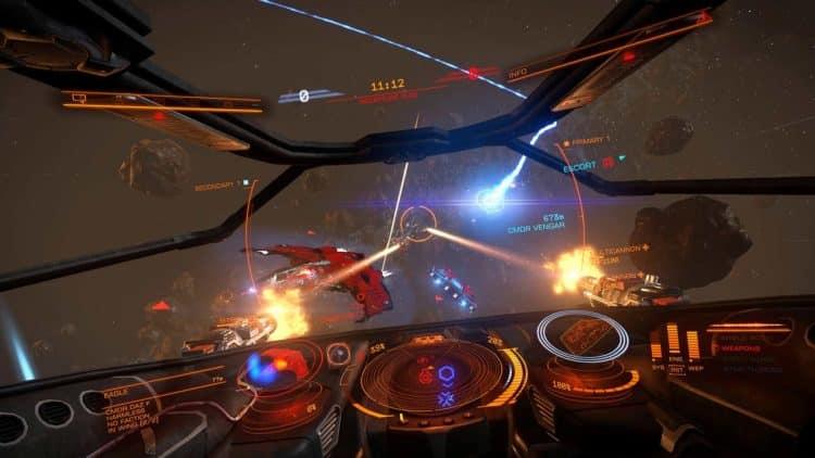 Elite dangerous Oculus rift