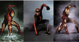 Motion capture pour Iron man