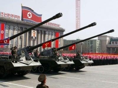 Défilé de l'armée nord-coréenne