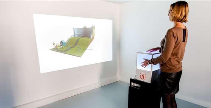 Cubtiiile Mobile, une innovation permettant de manipuler intuitivement des contenus en 3 dimensions