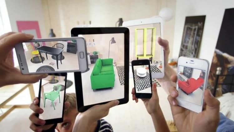 applications réalité augmentée