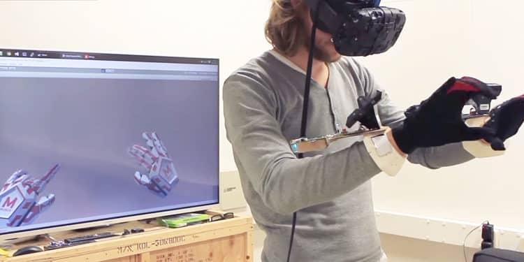 Manus VR HTC Laval Virtual startups vr/ar