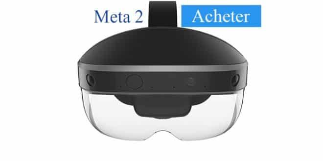 Acheter Meta 2 casque RA le plus abordable