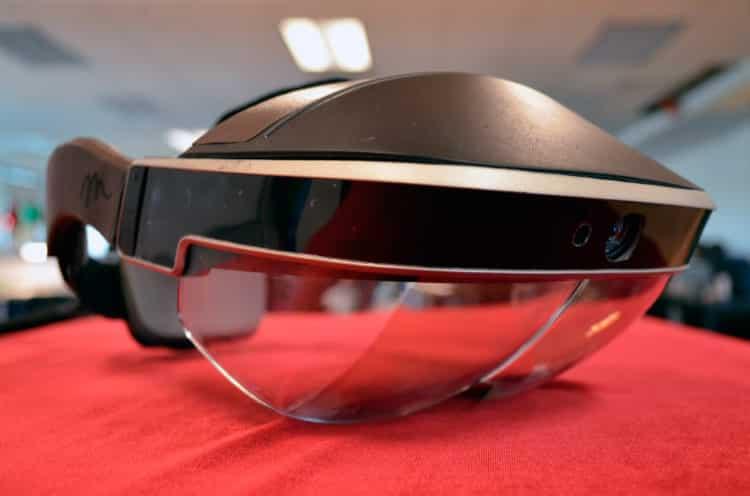 Meta 2 réalité augmentée design