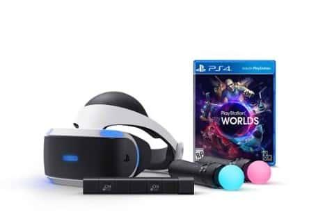 Pack incluant accessoire et casques PlayStation VR