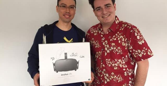 Premiere livraison de l'Oculus par Palmer Luckey