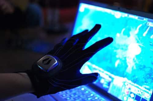Les gants connectés Peregrine