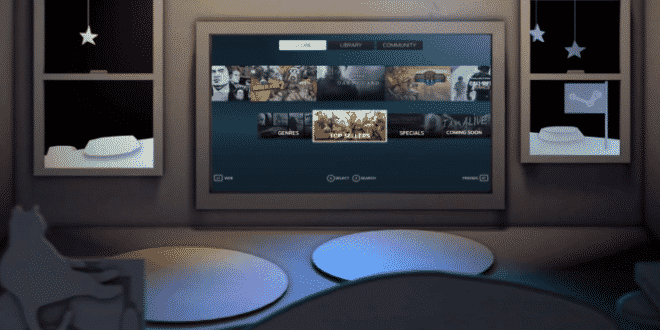 Steam Desktop Theater l'application pour jouer aux jeux Steam