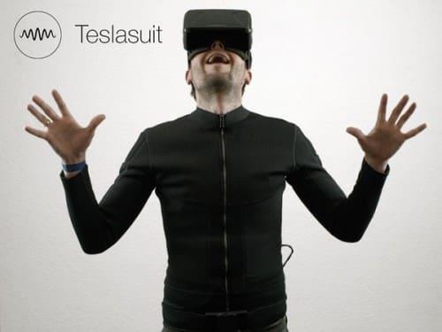 Teslasuit costume pour la realite virtuelle