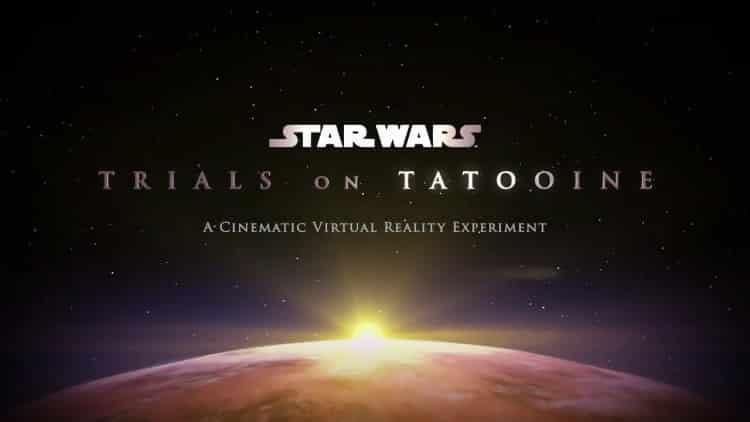 Trials on Tatooine ILM Star Wars