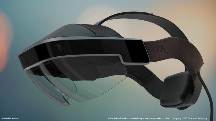 Meta 2 casque ar microsoft hololens test acheter prix