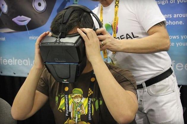 FeelReal le masque pour sentir le virtuel