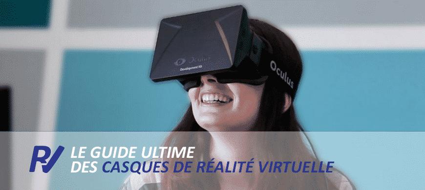 comparatif casques réalité virtuelle