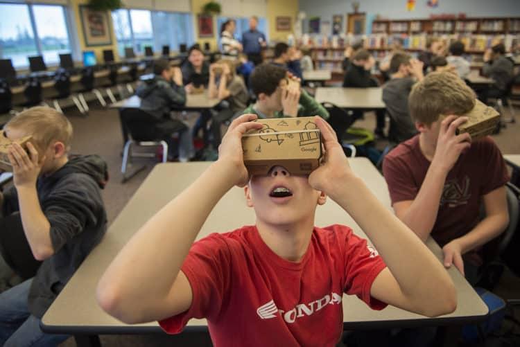 éducation réalité virtuelle