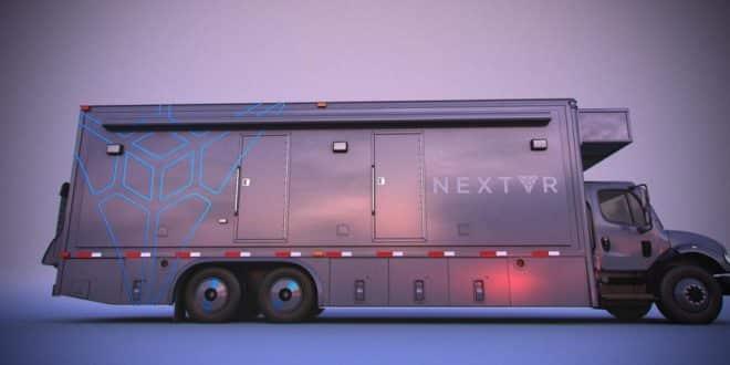 Le camion de diffusion 360° de NextVR