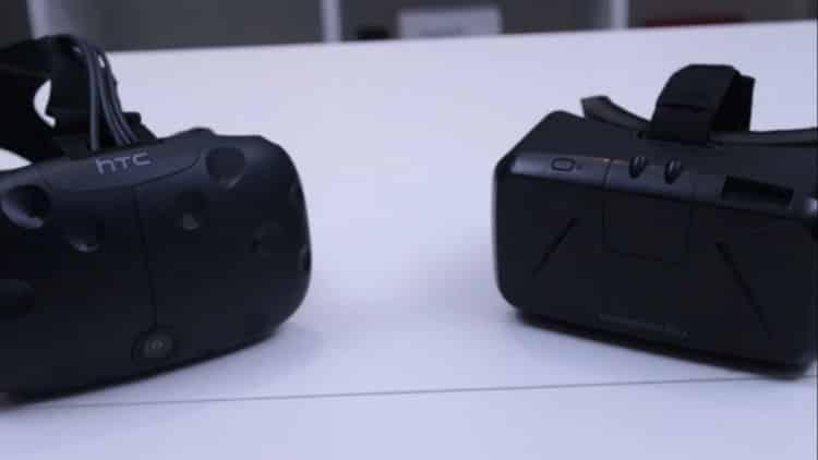 Test HTC Vive Oculus
