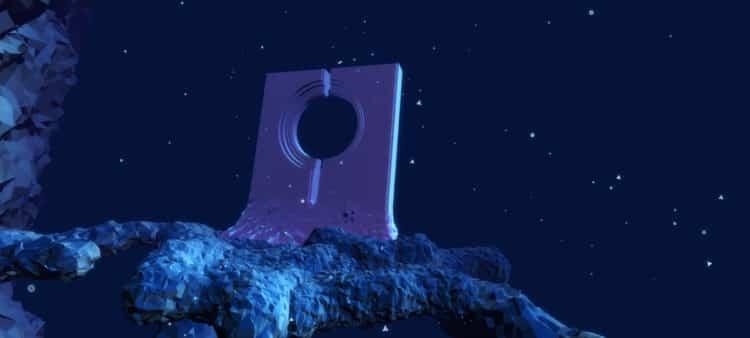 Capture d'écran d'un monde sous-marin dans Deep VR