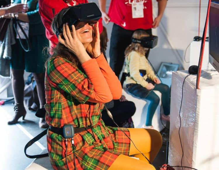 Le capteur Deep VR de respiration est situé au niveau du diaphragme