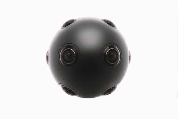 Caméra OZO Ball noire de Nokia