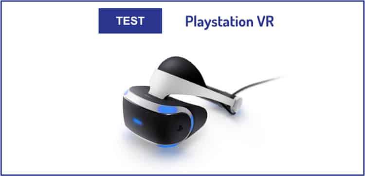 Test Playstation VR Sony PSVR