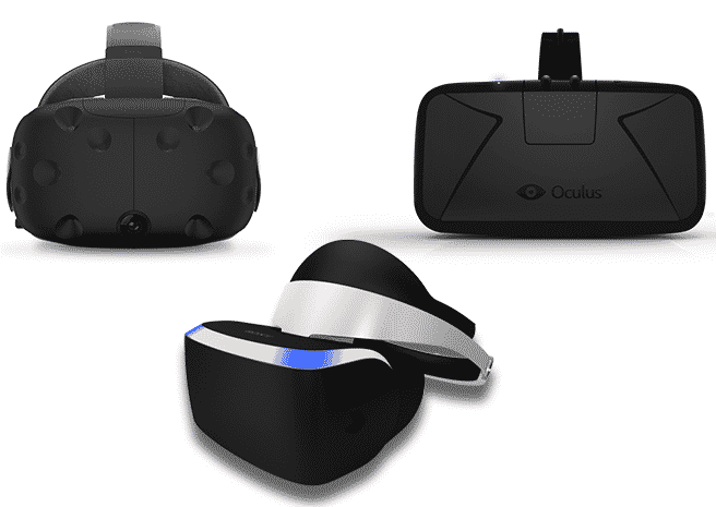 occulus, vive, playstation vr