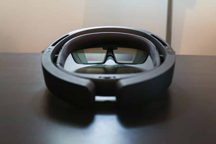 microsoft hololens arriere