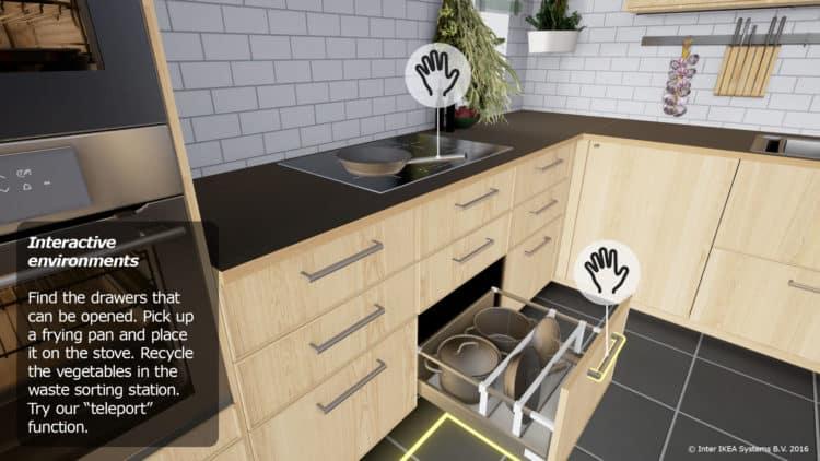 cuisine vr interactive