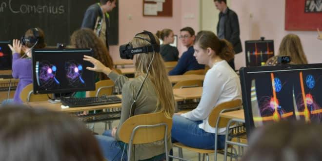 réalité virtuelle enseignement