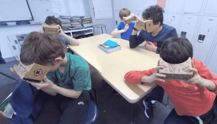 éducation casque réalité virtuelle