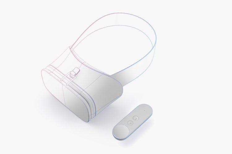 Le nouveau casque de VR Daydream Labs de google