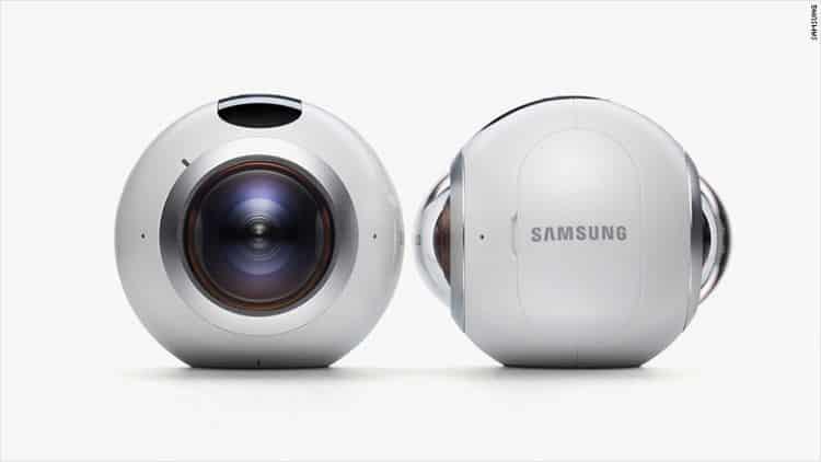 Caméra 360 Gear 360