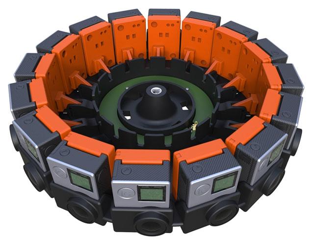 Caméra 360 Google Jump