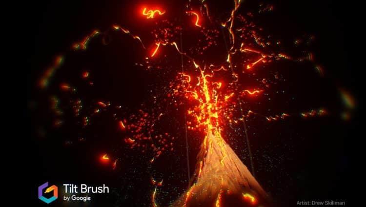 L'application Tilt Brush