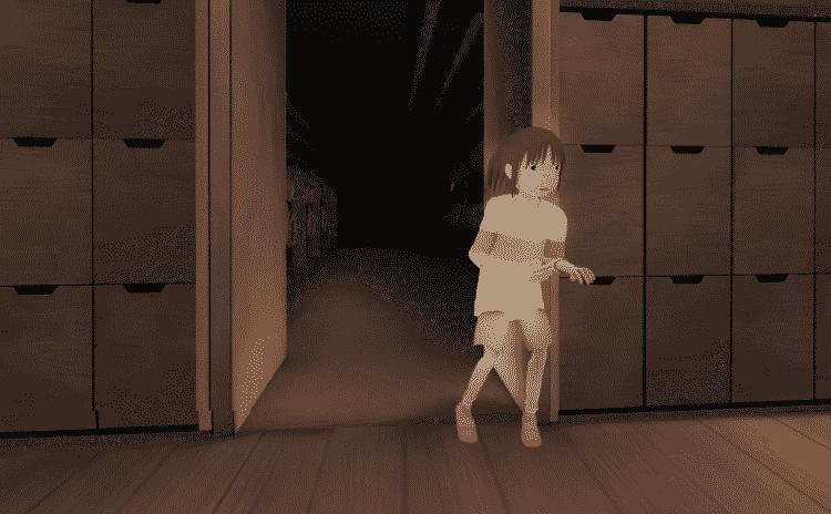 Capture d'écran du Voyage de Chihiro de Myazaki