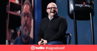 Le PDG de Magic Leap en visioconférence à la conférence Signal
